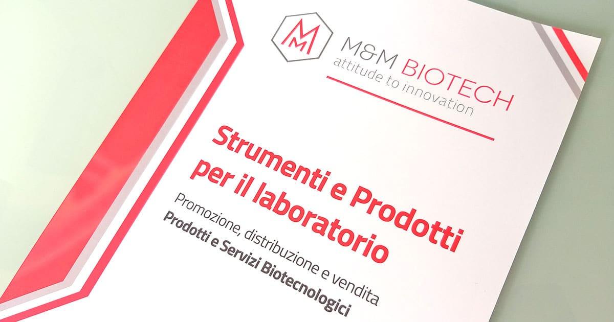 Catalogo Prodotti e strumenti biotecnologici per laboratorio