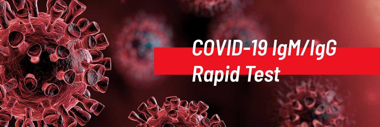 COVID-19 IgM/IgG Rapid Test