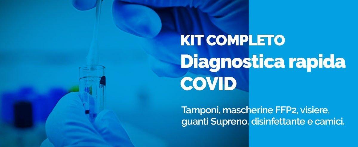 kit completo diagnostica rapida covid